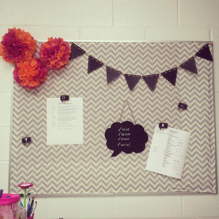 My bulletin board! High School Counselors Office