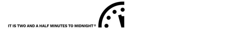 """""""Doomsday Clock"""" Advances To Two And A Half Minutes To Midnight, Trump Blamed https://blogjob.com/economiccollapseblogs/2017/01/26/doomsday-clock-advances-to-two-and-a-half-minutes-to-midnight-trump-blamed/"""