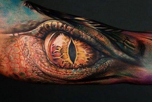 12 Stunning And Powerful Dragon Eye Tattoo Designs Arm Tattoos For Guys Eye Tattoo Cool Arm Tattoos