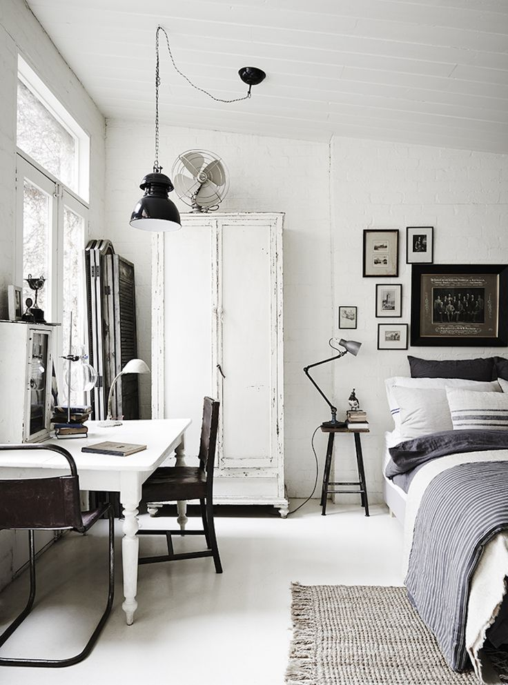Bedroom Ideas White best 25+ industrial style bedroom ideas only on pinterest