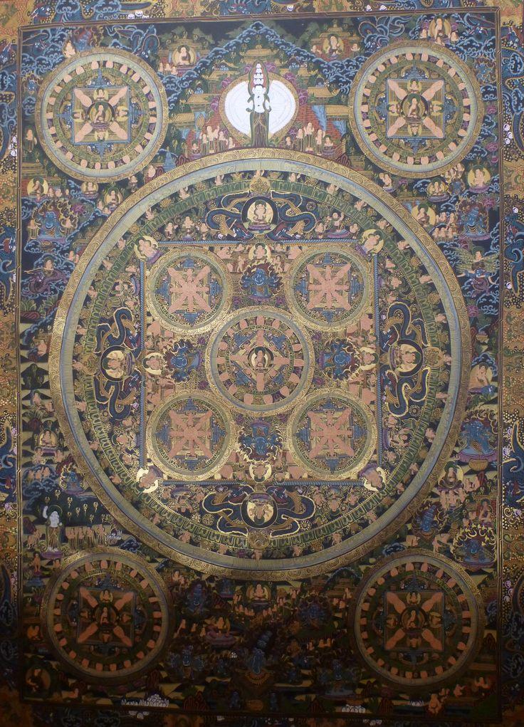 god buddha mandala
