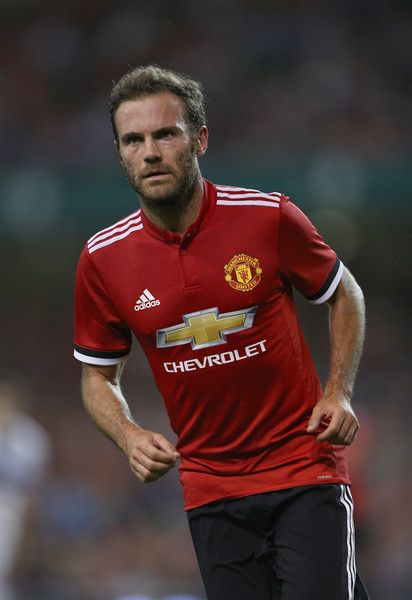 Juan Mata of Manchester United during the International Champions Cup match between Manchester United and Sampdoria at Aviva Stadium on August 2, 2017 in Dublin, Ireland.