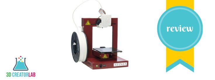 Afinia H480 3D Printer Review - http://3dcreatorlab.com/afinia-h480-3d-printer-review/