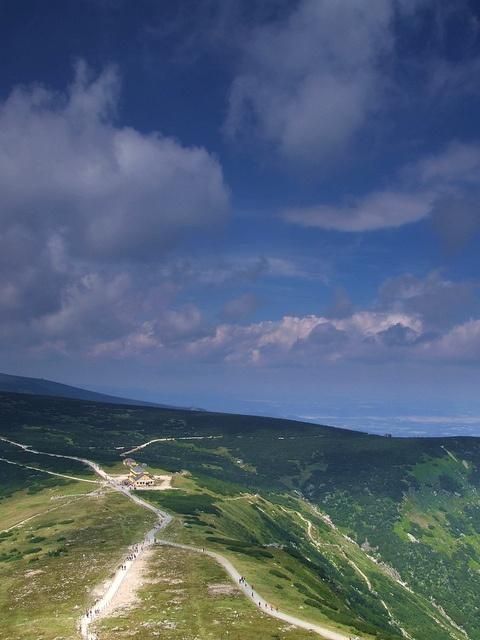 Poland - on the way to Śnieżka, the highest peak in Karkonosze