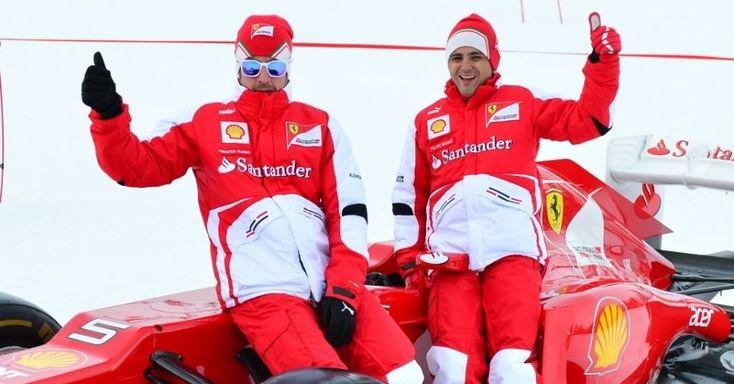 Massa e Alonso participam de evento de esqui da Ferrari: Fotos e imagens - UOL Esporte