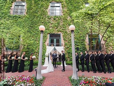 The Ivy Room At Tree Studios Downtown Chicago Wedding Venues Downtown Chicago Wedding Ceremony Venues 60611