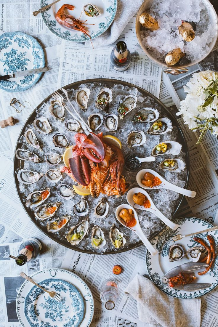 How To Throw A Raw Seafood Party | @honestlyyum