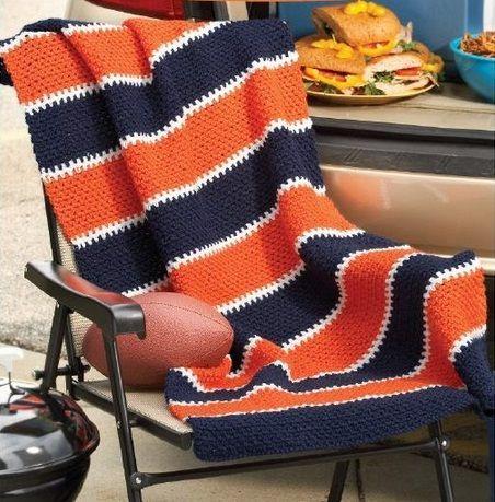 42 best auburn images on pinterest crochet afghans crochet orange navy stadium blanket uva university of virginia cavaliers fandeluxe Gallery