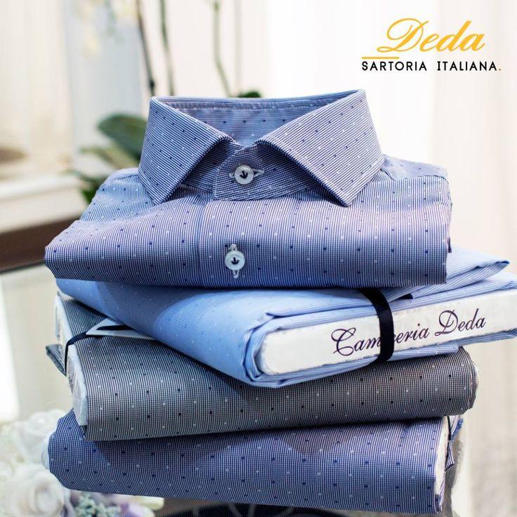 Il nostro obiettivo è riuscire a soddisfare la persona che desidera indossare una camicia dalla giusta vestibilità.  #Deda #camicie #uomo