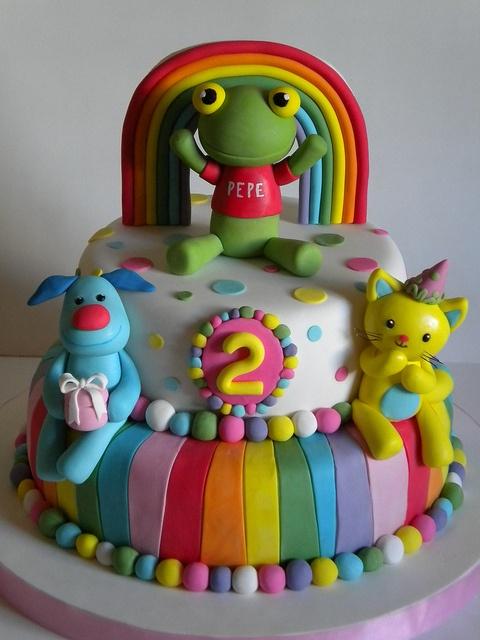 Torta Sapo Pepe by Pastelera Bakery Shop, via Flickr