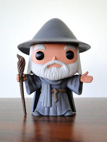Funko Pop Movies Hobbit Figure Gandalf 2012 Pop