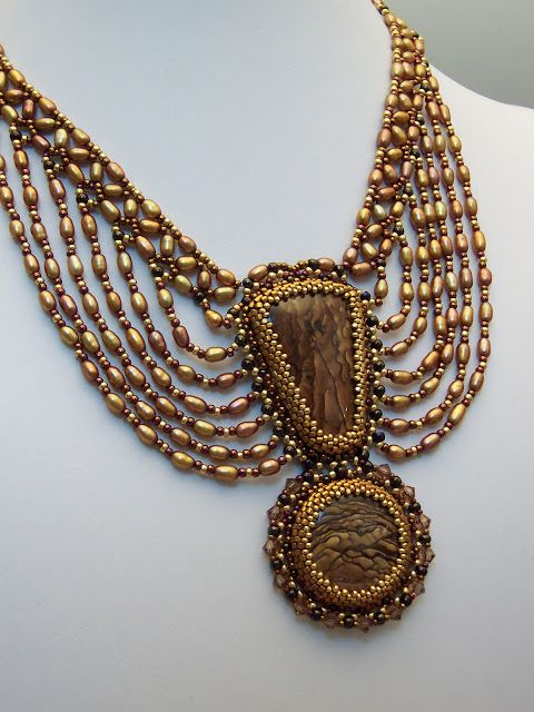 Inspiration - Haute Ice Beadwork by Marsha West-Hines!