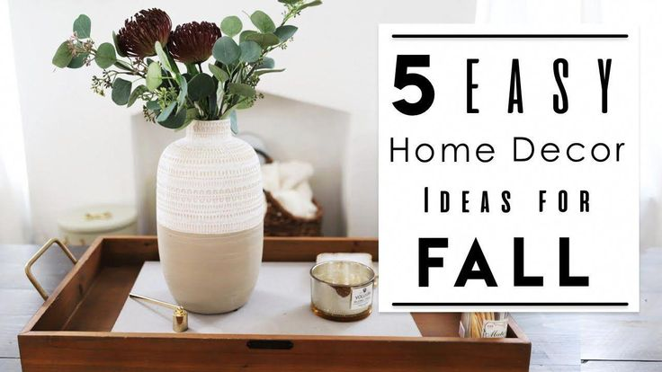 INTERIOR DESIGN | TOP 5 Best Home Decor Ideas to Decorate your Rented Ap… #Homedecorapartment