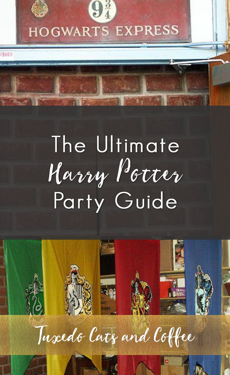 The Ultimate Harry Potter Party Guide