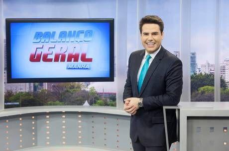 Luiz Bacci agora comanda o Balanço Geral Manhã em rede nacional