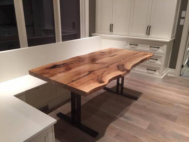maple table, live edge, live edge desk, live edge boardroom table, boardroom…