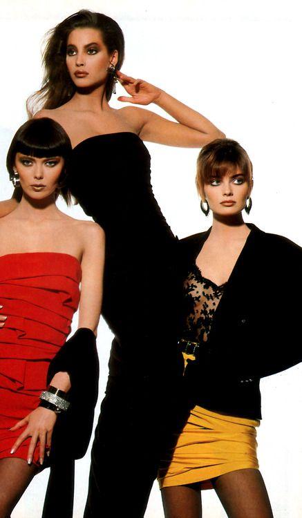 Gianni Versace, American Vogue, September 1987.