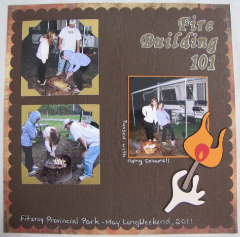 109 best scrapbooking page layouts  camping outdoor images
