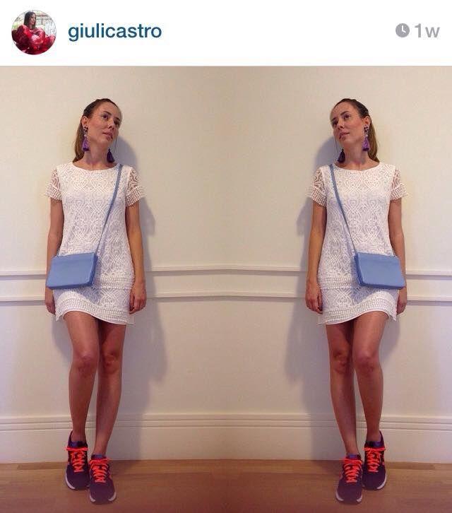 tenis new balance com vestido