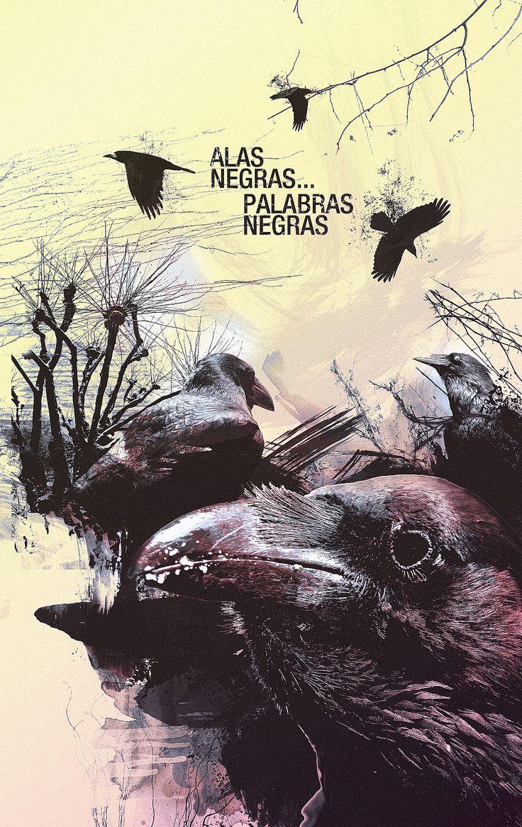 Alas negras…palabras negras / Dark wings...dark words