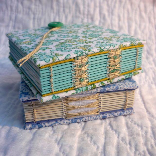 """cuadernos de mano Mini reciclados """"floral"""""""