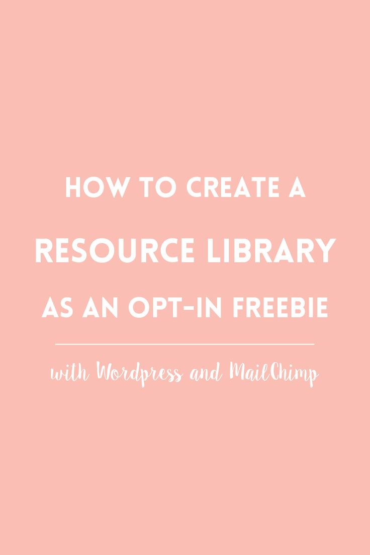 Learn how to create a free resource library as a content upgrade without using expensive plugins and apps, just with WordPress and MailChimp.