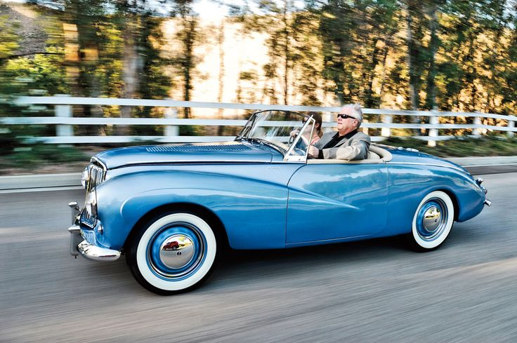 "1955 Sunbeam Alpine. Watched ""To Catch A Thief"" over the weekend and now want one of theses so bad."