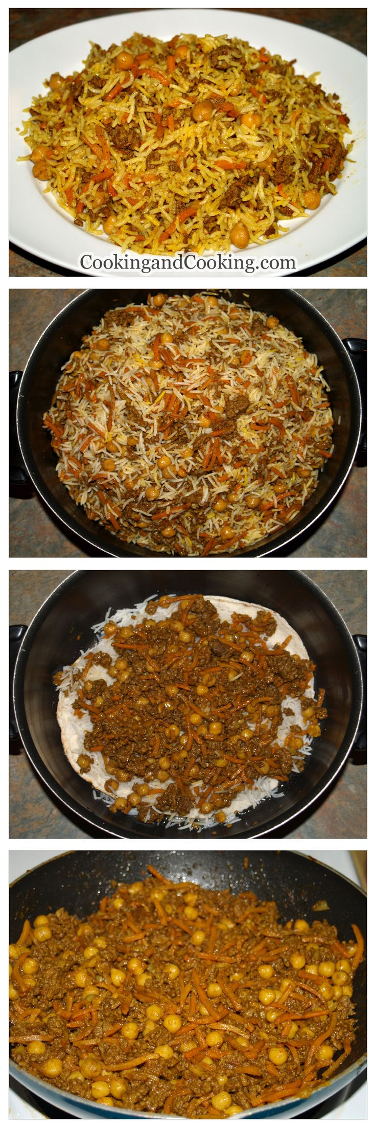 Rice with Chickpea and Beef Recipe