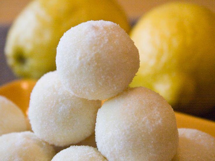 Angelica - Γλυκές συνταγές για παιδιά- Λευκά τρουφάκια με λεμόνι