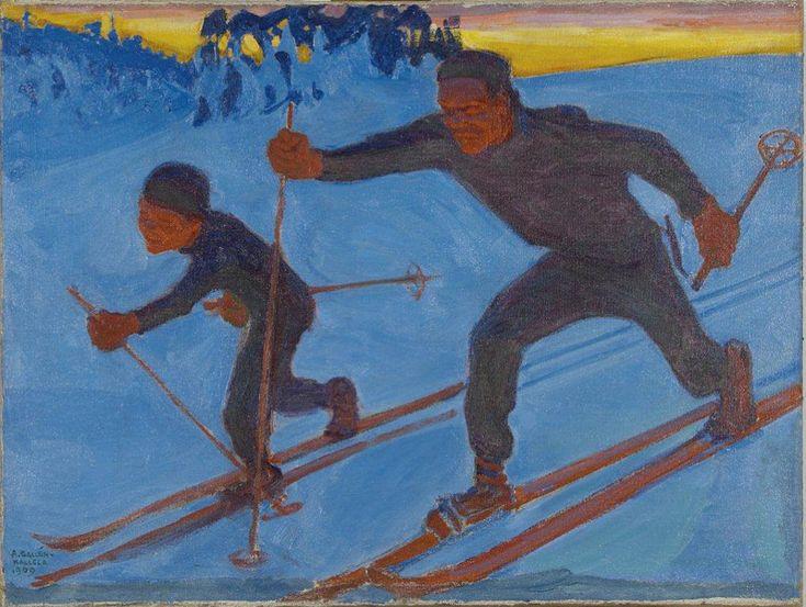the magazine art absolument - exhibitions : Akseli Gallen-Kallela (1865-1931). Une passion finlandaise