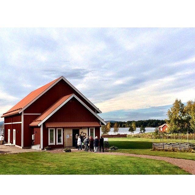 Vattnäs Konsertlada, Mora, Dalarnas endas konserthus för operasångare. #siljansguiden #siljansbygden #siljan #dalarna #dalecarlia #sverige #sweden