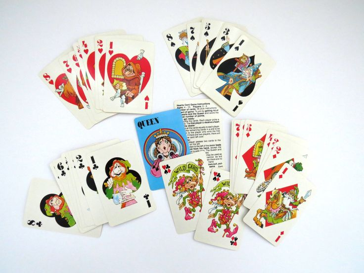 Vintage HEARTS Card Game - 1982 International Games - Ages 4 to 10 - Original Box - Shoot the Moon - Collectible - Arts Crafts - Kids Games by shabbyshopgirls on Etsy