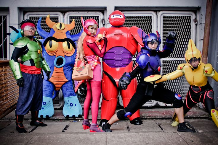 BIG HERO 6 cosplay pining it due.to it was.a comic before