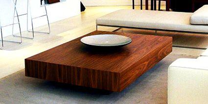 Mesa de centro minimalista