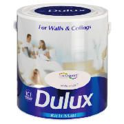 Dulux Matt White Chalk 2.5L This Dulux Matt White Chalk Paint offers unique colour protection in a wipe clean matt finish which minimises imperfections giving a contemporary effect for your walls and ceilings. A tester pot is av http://www.comparestoreprices.co.uk/paint/dulux-matt-white-chalk-2-5l.asp