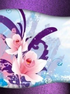 Download free Purple Flowers Mobile Wallpaper contributed by harrywilson, Purple Flowers Mobile Wallpaper is uploaded in Abstract Wallpapers category.