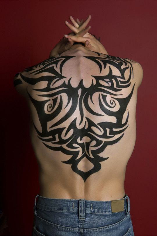 Tribal Butterfly Tattoos For Men - pictures, photos, images