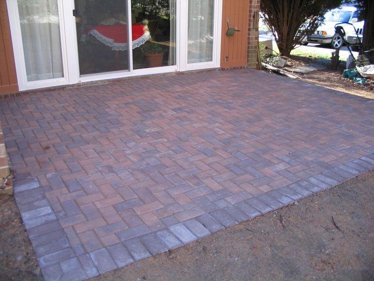 Perfect Showing U003e Herringbone Brick Pattern For Patio