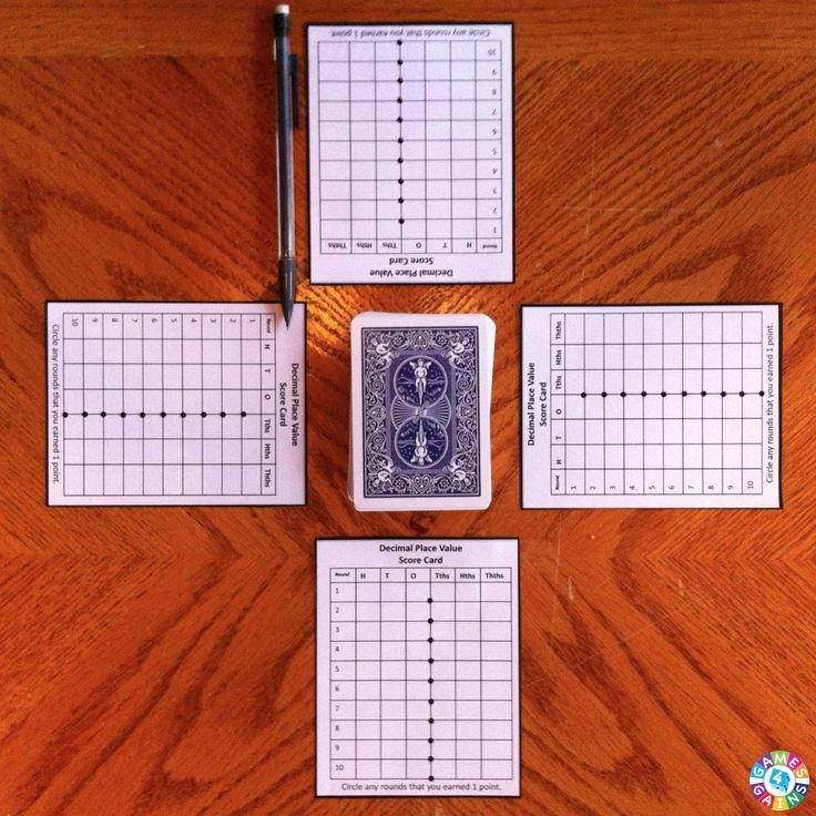 Decimal place value war with free scoring sheet You can also do place value war…