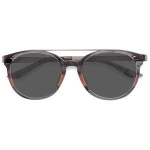 (Wk21) Women's Morning Breeze - Gray Pink aviator round metal - 16529 Rx Sunglasses - $49 - eyebuydirect.com