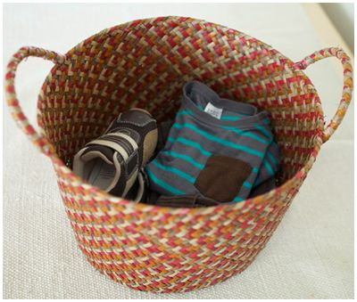 Dressing basket.     50 Montessori Activities for 2 Year Olds. Wow she has everything on here!