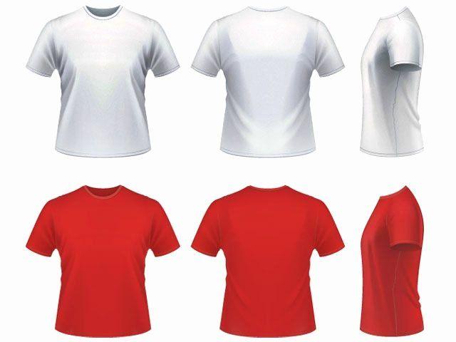 Download Free T Shirt Template Inspirational Free Download Shirt Template Vector Shirt Template Clothing Mockup Plain White T Shirt