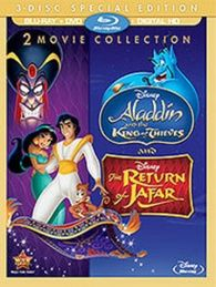 The Return of Jafar / Aladdin and the King of Thieves (Blu-ray) Temporary cover art