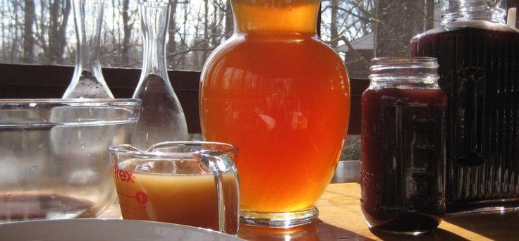 The benefits and drawbacks of drinking kombucha.