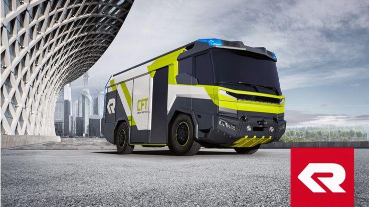 Rosenbaurer показал пожарный автомобиль будущего — Concept Fire Truck (+ВИДЕО)
