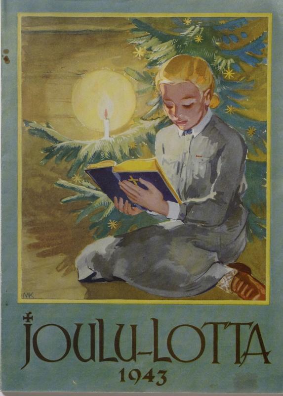 1943 Lotta Christmas Magazine