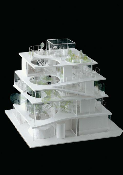 Les 7 meilleures images du tableau sanaa architecture sur for Architecture japonaise contemporaine