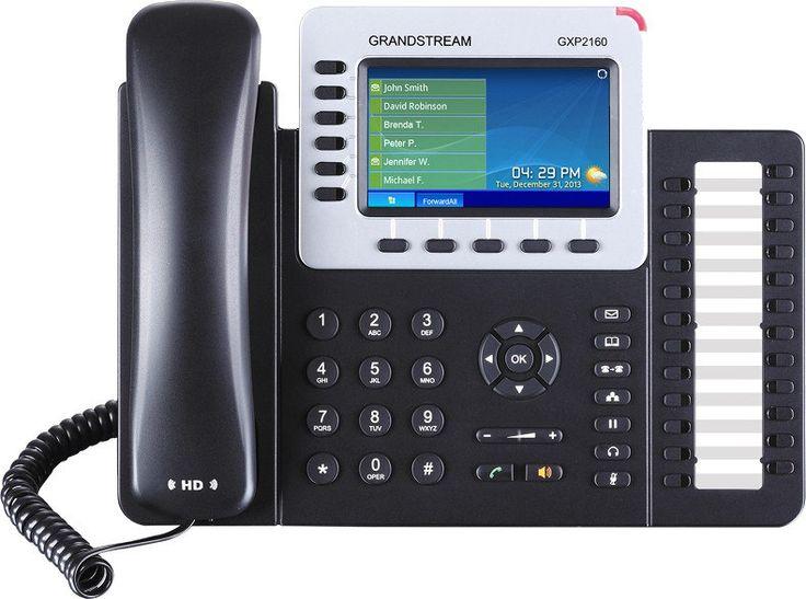 Grandstream GXP2160 GXP2160 GXP2160 обеспечивает превосходное HD-качество аудио, большой набор передовых функций телефонии, персонализированную информацию и настраиваемую службу приложений. GXP2160 также поддерживает автоматизированную первичную настройку для упрощенного использования, функции обеспечения безопасности и широкую совместимость с большинством SIP-устройств и ведущих платформ SIP/NGN/IMS других производителей. Идеально подходящий для предпринимателей малого и среднего бизнеса…