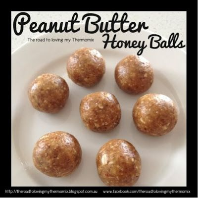 The road to loving my Thermomix: Peanut Butter Honey Balls