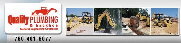 Quality Plumbing & Backhoe offers general engineering contractor services at fair rates. Whether for plumbing or concrete, our family - owned and operated company can handle any type of residential and commercial repair and installation. For More Info : http://www.qualityplumbingandbackhoe.com/